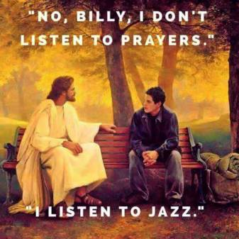 I listen to jazz